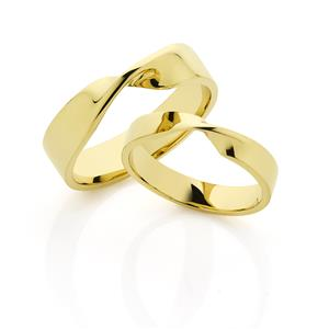 <p>The Mobius ring; (moe-bee-uhs)</p>