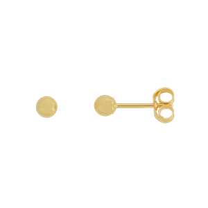 <p>3mm Ball Stud Earrings</p>