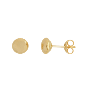 <p>5mm Flat Stud Earrings</p>