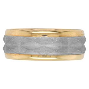 <p>8mm Watch Band Two-Tone Ring</p>