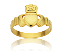 <p>The Irish Claddagh Ring - Symbol of Love, Loyalty & Friendship</p>